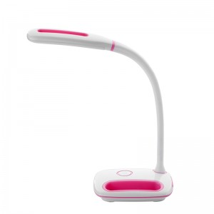 FLEXO LED  BATERIA 3W ROSA REGULA INTENSIDAD