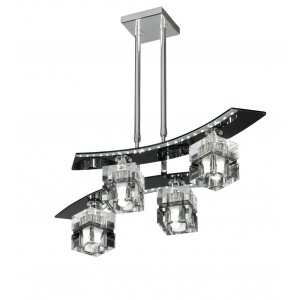 Colgante 4 luces volumen Zander Led