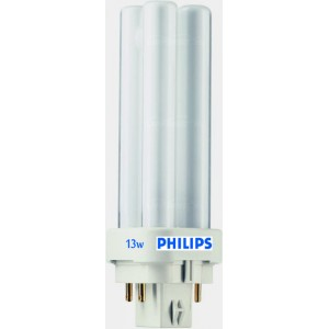 bombilla plc 4 pin Philips 13w